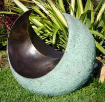 Kara Sanches - bronze resin garden sculpture