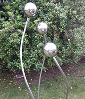 stainless steel orbs